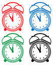 Alarm Clock Set Royalty Free Stock Image - 12833486