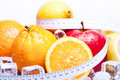 Diet Control! Royalty Free Stock Photo - 12838125