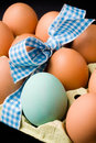 Eggs With Ribbon Royalty Free Stock Photos - 12838618