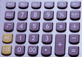 Calculator Buttons Royalty Free Stock Image - 12846556