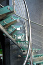 Modern Glass Staircase Royalty Free Stock Image - 12861456