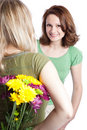 Mother And Daughter Celebrating Mother S Day Stock Photography - 12863332