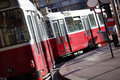 Tram In Vienna Austria Royalty Free Stock Photography - 12880207