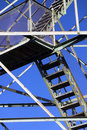Stairs And Beams On Fire Tower Royalty Free Stock Photos - 1291278