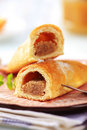 Sweet Pastry Rolls Royalty Free Stock Photos - 12908458