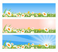Spring Banners Royalty Free Stock Image - 12917376