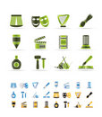 Different Kind Of Art Icons Stock Image - 12919271