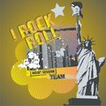 Rock N Roll Liberty Stock Images - 12920464