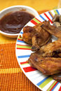 Roasted Chicken Wings Stock Photos - 12926133