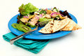 Tuna Salad With Pita Bread Stock Images - 12931954