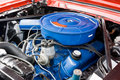 1966 Ford Mustang 8 Cylinder Engine Stock Photo - 12932850