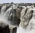 Panorama Of The Augrabies Waterfall Stock Image - 12935471
