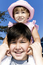 Brother And Sister Royalty Free Stock Image - 12940416