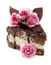 Piece Of Chocolate Cake Royalty Free Stock Photo - 12963355