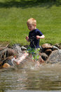 Playing In Water Stock Photos - 12963503