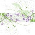 Abstract Floral Background Stock Photos - 12967043
