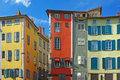 Traditional Architecture Of  Le Pyui, France Royalty Free Stock Image - 12969846