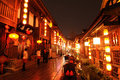 Chinese New Year In Jinli Old Street Stock Images - 12970154