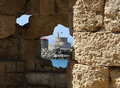 View On The Fortress In Rhodes From The Hole In Wa Royalty Free Stock Images - 12975939
