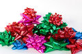 Christmas Bows Royalty Free Stock Photography - 12976807