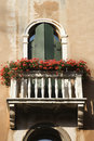 Balcony And Flowers Royalty Free Stock Photos - 12978308