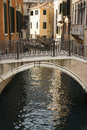 Canal And Bridge In Venice Royalty Free Stock Images - 12979509