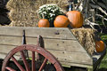Fall Harvest In Wagon Royalty Free Stock Image - 1300096