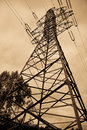 Electrical Power Lines Royalty Free Stock Photography - 13022557