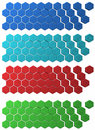 Hex Grid Backdrops Stock Images - 13034454
