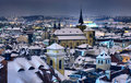 Roofs Of Prague Royalty Free Stock Photo - 13036115
