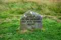 Culloden Grave Marker Royalty Free Stock Image - 13076166