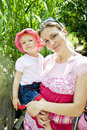 Mother And Daughter Royalty Free Stock Photography - 13081277