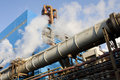 Factory Pipe Royalty Free Stock Photos - 13084948