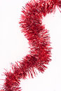 Red Tinsel Royalty Free Stock Photography - 13085057