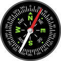 Vector Compass Royalty Free Stock Image - 13095616
