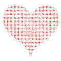 Dotted Heart Royalty Free Stock Photos - 13097308