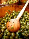 Green Olives Stock Image - 13104951
