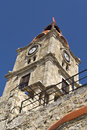 Greek Traditional Steeple At Rhodes Stock Images - 13113924