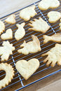 Cooling Freshly Baked Cookies Royalty Free Stock Photography - 13137607