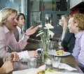 People At Lunch Royalty Free Stock Images - 13140969