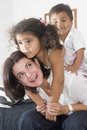 Mom And Children Stock Photos - 13149603