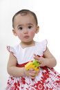 Cute Little Girl Stock Image - 13149871