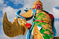 Chinese God Statue Royalty Free Stock Image - 13151386