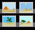 Stamps Collection Royalty Free Stock Photos - 13153248