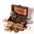 Money Chest Royalty Free Stock Photography - 13161397