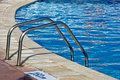 Swimming Pool Ladder Royalty Free Stock Photos - 13182838