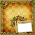 Grunge Paper In Scrapbooking Style Royalty Free Stock Photos - 13188398