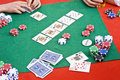 Poker Game Royalty Free Stock Images - 13190899