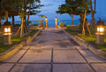 Evening Kind On Ocean , Bali, Indonesia Royalty Free Stock Images - 13203069