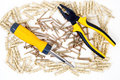 Screwdriver And Pliers Stock Photography - 13218472